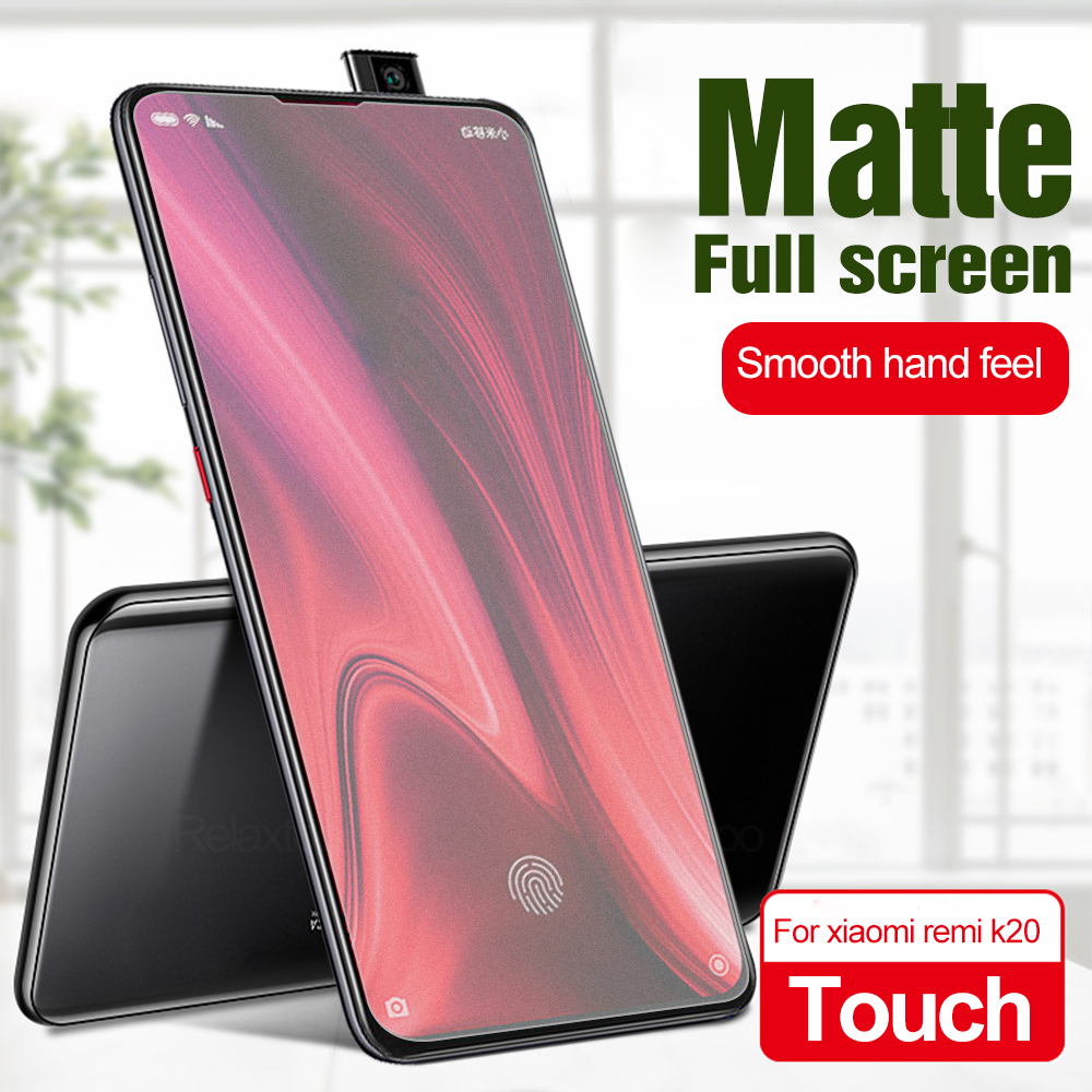 Anti-fingerprint Matte Frosted Tempered Glass For Xiaomi Mi 9T 9 T Pro Screen Protector Film For Xiaomi redmi K20 k 20 K20PRO(China)