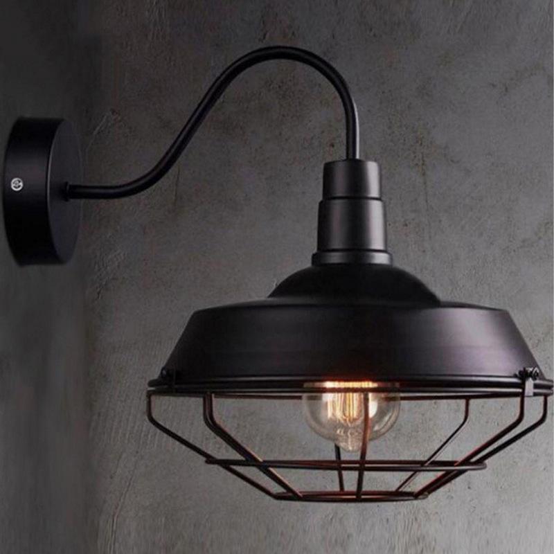 modern industrial decor arandela iron bedroom dining room living room luminaria de parede monkey lamp