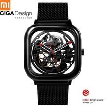 For Xiaomi CIGA Design Hollowed out Automatic Mechanical Watch Business Men Wrist Watch Reddot 2019 New Self wind Wristwatches