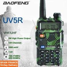 Fábrica fornecer diretamente original walkie talkie rádio em dois sentidos baofeng UV-5R uv5r caça