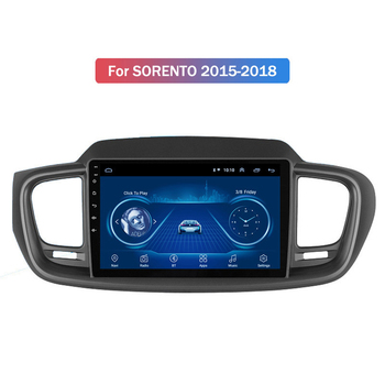 NEW-New 1+16G Android 10 Car Radio Multimedia Player for Kia Sorento 2015-2018 GPS Navigation 2Din image