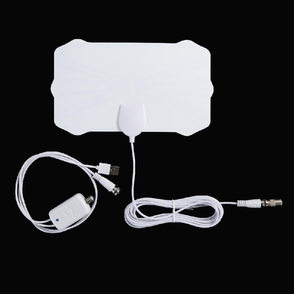 Mit Signal Verstärker 200 Meile Palette <font><b>TV</b></font> Antenne <font><b>TV</b></font> <font><b>Digital</b></font> HD Skywire 4K Antena Digitale Indoor HDTV 1080P <font><b>TV</b></font> Antenne Neue image