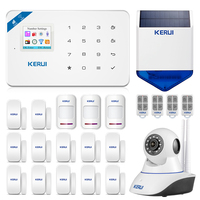 2020 KERUI W18 WIFI GSM Dual Alarm System APP Control 1.7 inch Color Screen With Wireless PIR Motion Detector Home Burglar Alarm