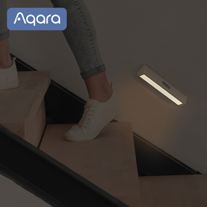Image 2 - Aqara التعريفي LED ضوء الليل التثبيت المغناطيسي مع جسم الإنسان ضوء الاستشعار 2 مستوى السطوع 3200K درجة حرارة اللون