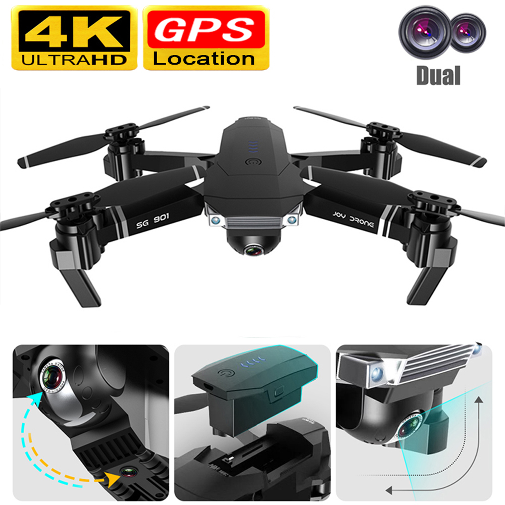 Drone GPS 4k Drone Camera 5G WiFi FPV 1080P No Signal Return RC Helicopter Flight 20 Minutes Quadcopter Drone With Camera