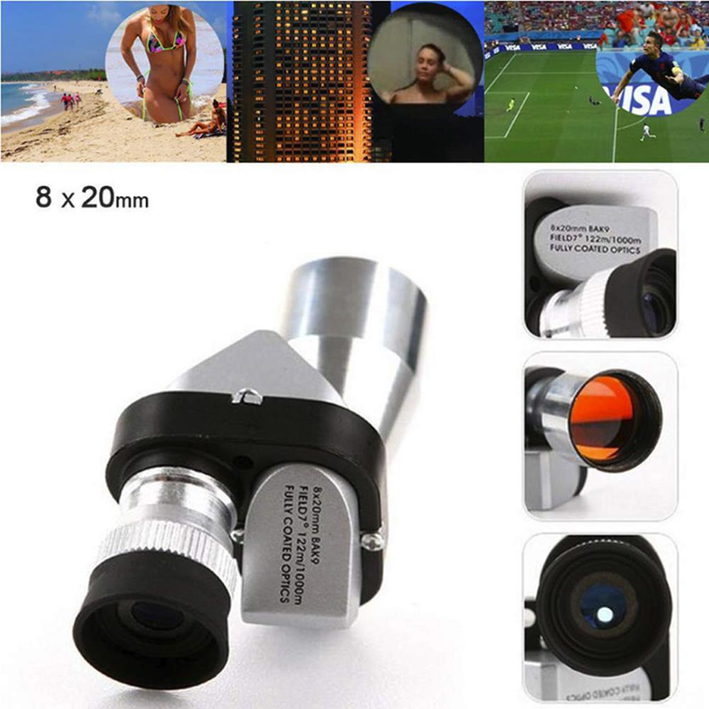 Monocular Scope Spotting Range Finder Spotting Scope Mini Telescope Golf 8X20 Telescope Hunting Pocket Sport Mini Scope