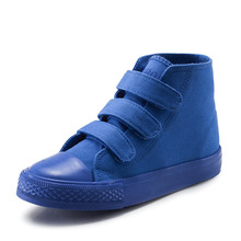 Children Canvas Shoes Girls Sneakers High Top Kids 2019 New Spring Autumn Fashion Casual children shoes Footwear