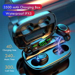 Image 2 - Lovebay Wireless Bluetooth 5.0 Earphones LED Display TWS Bluetooth Headphones Touch Control Waterproof Noise Cancelling Headset