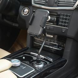 Do wszystkich smartfonów uchwyt na kubek samochodowy stojak na telefon regulowany butelka do picia wspornik obsady nie namagnesowany komórkowy akcesoria do telefonu