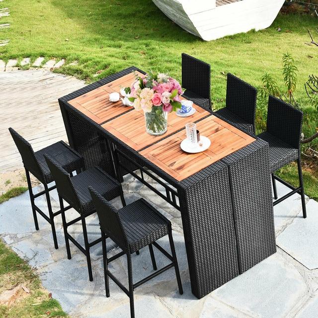 7 PCS Outdoor Dining Furniture Set 2