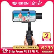 Eken S5B 3 Axis Handheld Gimbal Stabilizer Mobiel Video Record Smartphone Gimbal Voor Telefoon Action Camera Vs H4