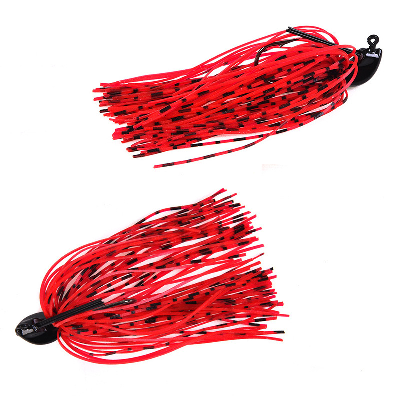 1Pcs 7g 10g 14g Finesse Chatter bait spinnerbait fishing lure Buzzbait wobbler chatterbait for bass pike walleye fishing tackle-5