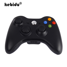 Kebidu WINDOWS XP 용 Xbox 2.4 게임 컨트롤러 조이스틱 용 최신 360 GHz 무선 게임 패드 무선 수신기