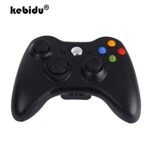 Image 1 - Kebidu yeni 2.4GHz kablosuz Gamepad için kablosuz alıcı Xbox 360 oyun denetleyicisi Joystick için WINDOWS XP