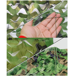 Image 4 - 2X4m 3X4m 3X6m Camping Military Camouflage Nets Camo Net Car Cover Army Sun Shelter Tent Outdoor Hunting Blind & Tree Stand