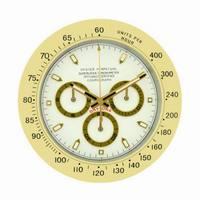 Gold Large Wall Clock Metal Silent Wall Watch Mechanism Luminous Clocks Wall Home Decor Calendar Relogio De Parede Gift L041
