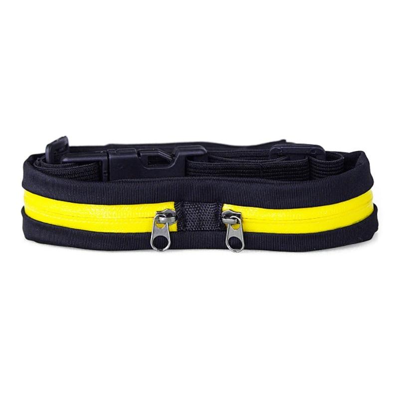 Breathable Lightweight Men Women Running Belt Waist Keys Phone Invisible Storage Bag Practical Sports Fitness Running Waist Bag Sport Bags Covers     - title=