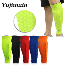 1PC Basketball sports Knee Pads Sleeve Honeycomb Brace Elastic Kneepad Protective Gear Patella Foam Support Volleyball Football цена 2017