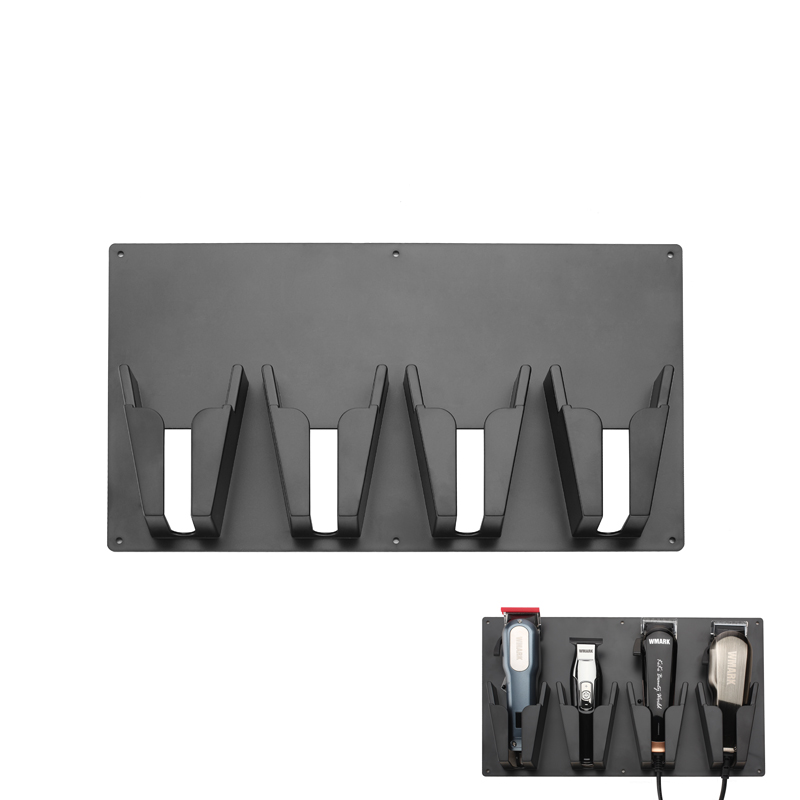 Professional High Temperature Plastic Barber Tools Storage Case Convenient Hair Clipper Stand Holder For Hair Salon Acessories