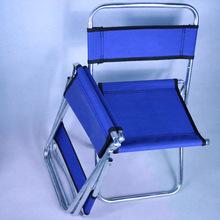 Travel Outdoor Folding Chair Superhard High Load Camping Chair BBQ Stool Portable Beach Hiking Picnic Seat Fishing Tools Chair cheap CN(Origin) Metal Aluminum 56*25*26cm Beach Chair C0926-2 Outdoor Furniture Modern