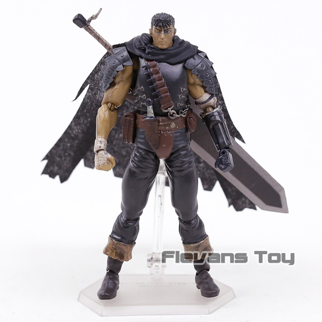 Berserk Figma 359 Guts Black Swordsman Ver Repoint Edition  PVC Action Figure Collectible Model Toy 1