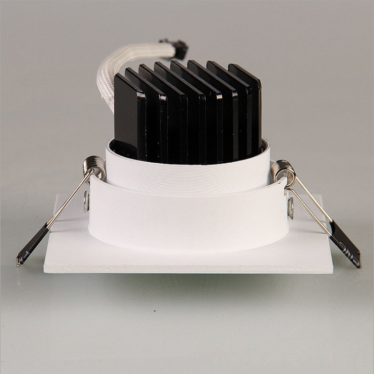 LED-Down-Light-Square-7W-9W-12W-Led-Downlight-COB-Dimmable-Recessed-Led-Ceiling-Spot-Light