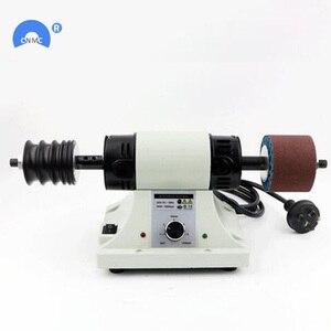 Image 2 - 220V/110V 8000RPM deri parlatma parlatma makinesi deri kenar taşlama kiti
