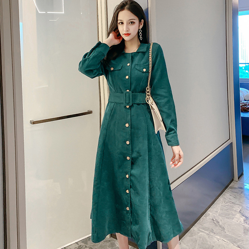 Fashion women comfortable warm long coat new arrival high quality temperament outerwear holiday thick vintage elegant   trench