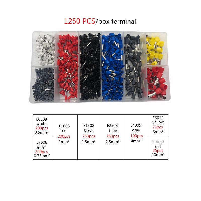 Buisvormige Terminal Krimpgereedschap HSC8 6-4A Tang Voor 0.06-10mm2 28-7awg Terminals Hoge Precisie Elektrische Tang Klem Sets