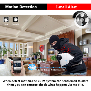 Image 3 - HCVAHDN 8CH 5MP POE NVR Xmeye CCTV מערכת 4.0MP מקורה חיצוני PoE IP מצלמה IR ראיית לילה וידאו אבטחת מעקב ערכות