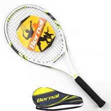 Профессиональная теннисная ракетка из одного углеродного волокна для взрослых и детей, универсальный костюм с сумкой для ракетки, ракетка для тенниса, Raquete De Tenis Padel