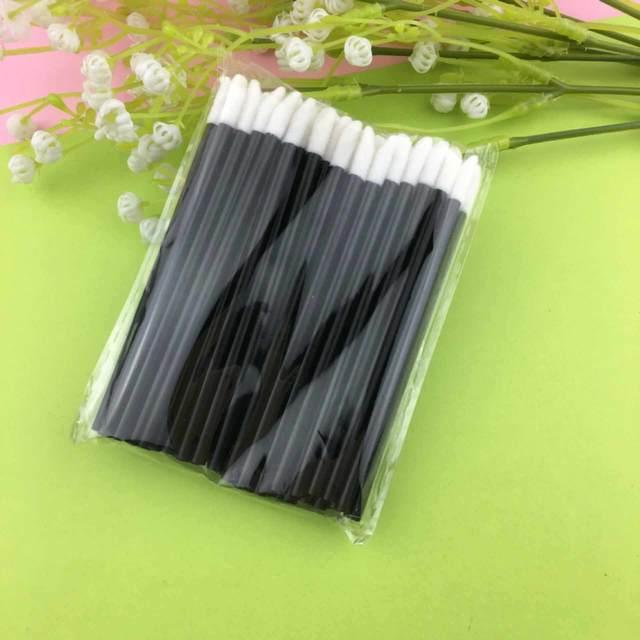 50 Pcs Disposable Lip Brush Eyelash Makeups Brushes Lash Extension Mascara Applicator Lipstick Wands Sets Cosmetic Makeup Tools 2