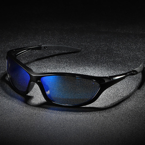 Image 1 - Мужские поляризационные солнцезащитные очки, уличные очки для вождения, рыбалки, с защитой UV400, 2020