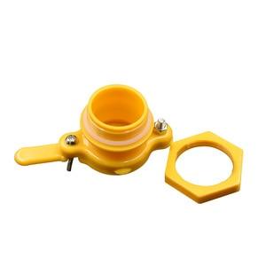 Image 4 - Brand Three Color Honey Gate Beekeeping Tool Suitable for honey bee faucet gate valve beekeeping Honey extractor door Honey Tool