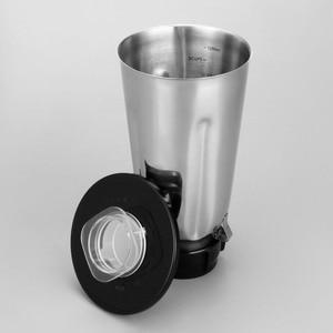 Image 3 - 5 カップステンレス鋼ブレンダー瓶セットフリップトップ蓋抽出ブレード 2 フィットガスケットオスターのためのフィット
