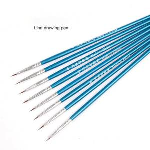 Hook-Line-Pen Painting-Brush Stationery Art-Supplies Watercolor Fine-Hand-Painted School