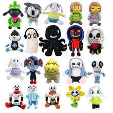 Jouets en peluche de dessins animés pour enfants, 20 Styles, poupées, Frisk, sara, doux, Zombie, cadeaux d'anniversaire, de noël
