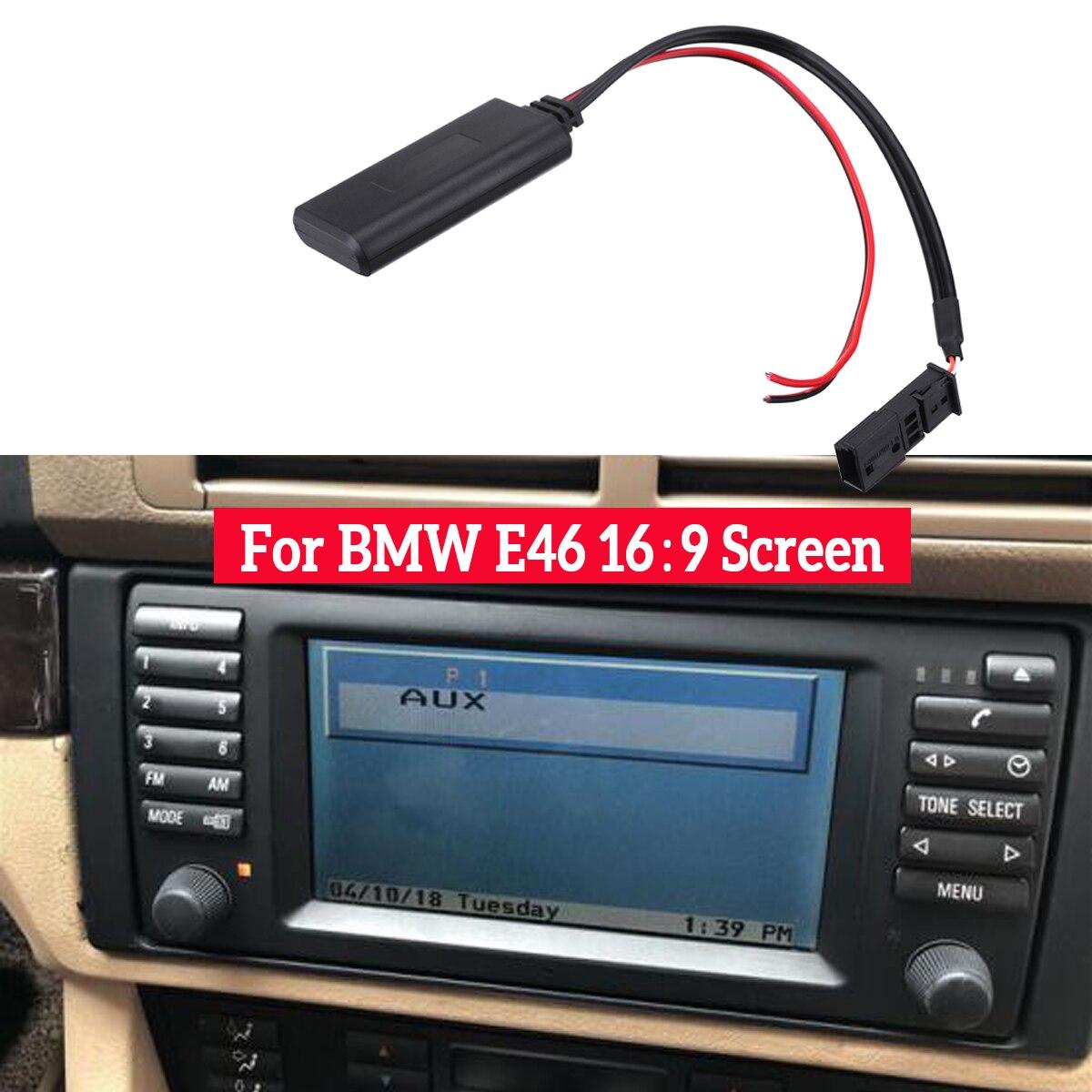 Автомобильный bluetooth модуль AUX в аудио Радио адаптер 3 контактный для BMW BM54 E39 E46 E38 E53 X5 аксессуары для автомобильной электроники|Автомобильный комплект Bluetooth|   | АлиЭкспресс