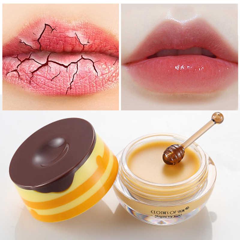 Marka Propolis Lip maska do spania pielęgnacja skóry Exfoliator balsam do ust nawilżający odżywczy wargi Plumper krem nawilżający pielęgnacja ust
