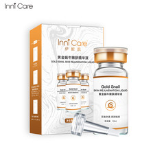 InniCare Snail Gold Face Serum Facial Cream Liquid 24K  Essence Anti Aging Wrinkle Moisturizing Nourishing Beauty Skin Care