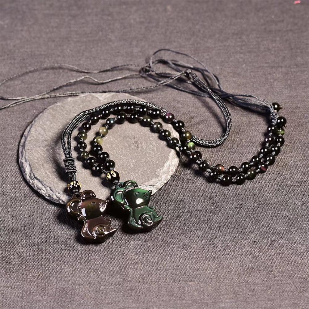 Obsidian Pendant (12)