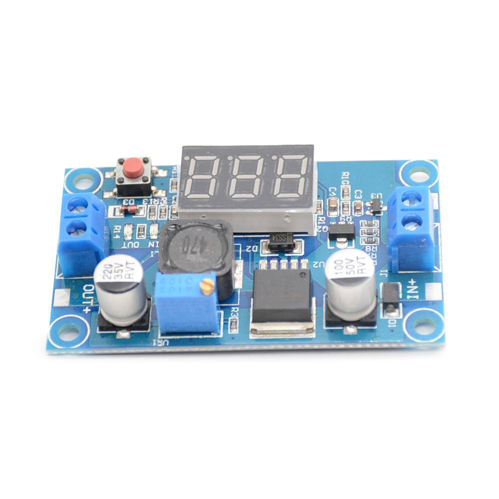 1Pce DC 2,5 ~ 36 до 1,25-35 в светодиодный вольтметр понижающий модуль преобразователя питания LM2596