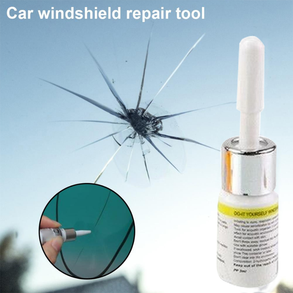 2019 New Car Windshield Repair Tool DIY Car Window Repair Tools Window Glass Curing Glue Auto Glass Scratch Crack Restore Kit