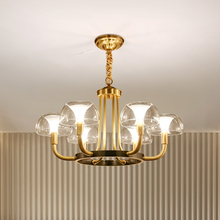 Moderne Luxus Kupfer Kreative Kronleuchter Beleuchtung Für Wohnzimmer/Esszimmer Amerikanischen Licht Nordic Leuchte Indoor Lichter
