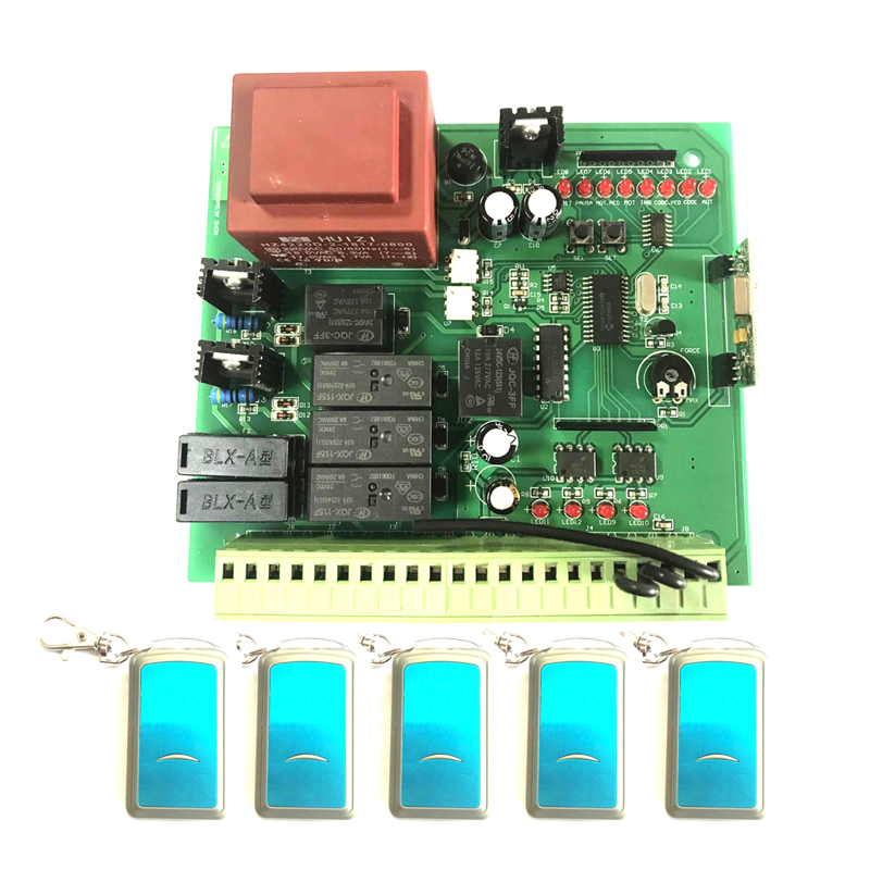 Italy Quality AC 230V Swing Gate Opener Control Board Mother Board With Slow Down Function
