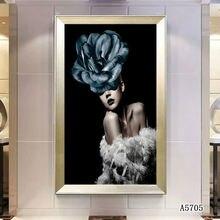 Скандинавская Современная Цветочная фотография Женская декоративная