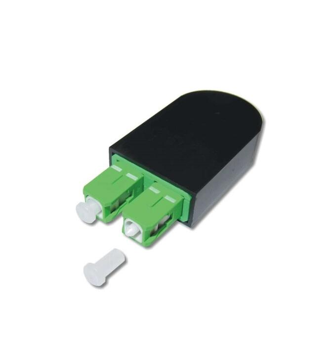 SC /APC Single Mode Fiber Optic Circuitors SC Circuitors SC Fiber Optic Connectors Loopback
