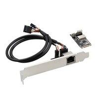 M.2 b-chave m-chave para gigabit ethernet placa de rede 1000m rj45 porto para m.2 adaptador rtl8111h
