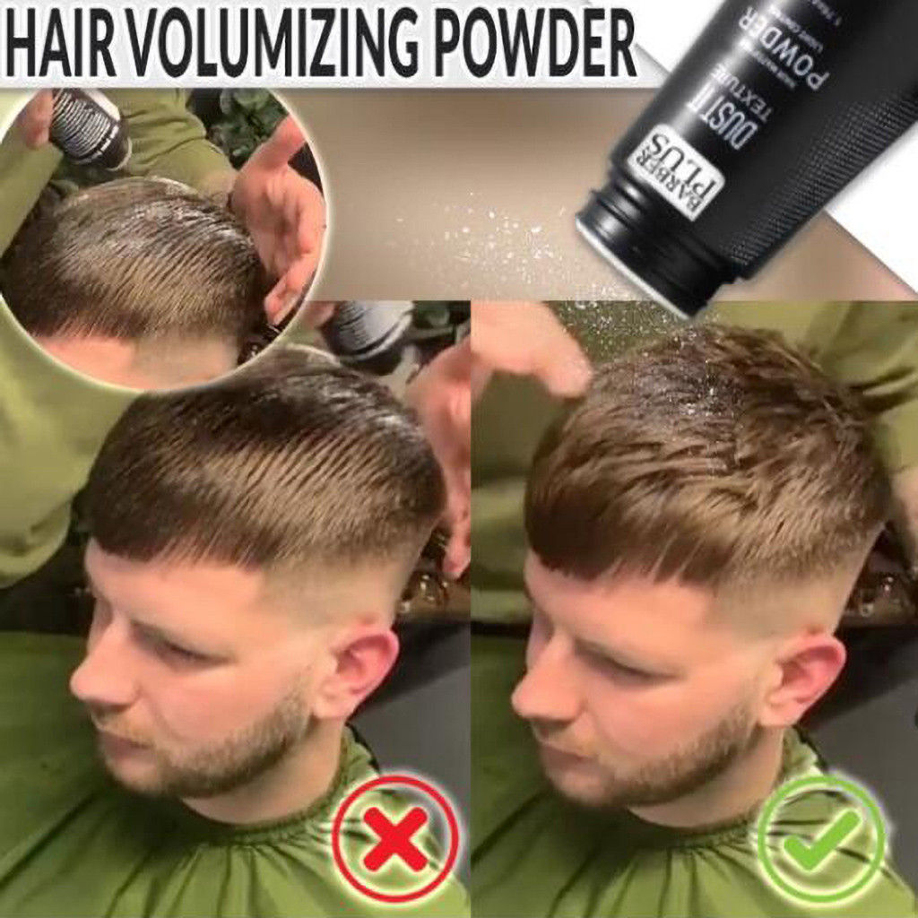 Hair Volumizing Mattifying Powder Fiber Hairspray Best Dust It Men Women Oily Hair Quick Dry Powder Dry Shampoo Powder Thick image