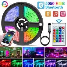 1-30M taśma LED światło USB Bluetooth 5050/2835 światło RGB SMD DC5V elastyczna taśma LED taśma wstążka TV ekran pulpitu dioda podświetlenia